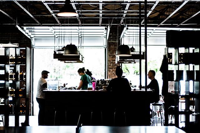 Das Café für das erste Date