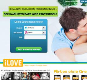 iLove.de Startseite