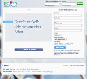 Zoosk Startseite