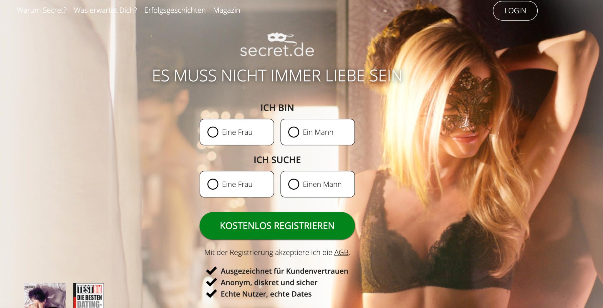 Secret dating kosten