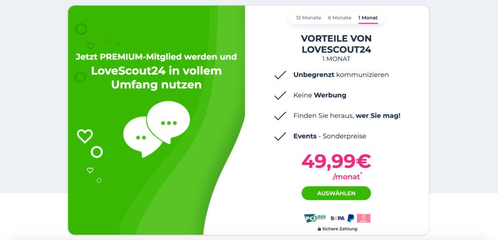 Lovescout Kosten und Preise